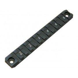 Rail Tactique 14cm Noir