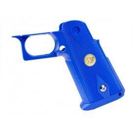 WE Grip Pistolet Bleu IPSC