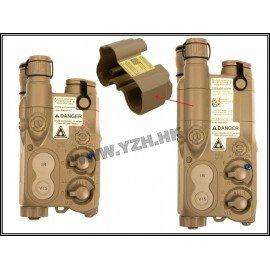 PEQ 16 Boitier Batterie Tan