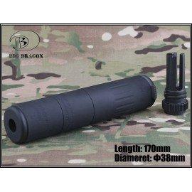 Silencieux AAC M4-2000 Deluxe Noir