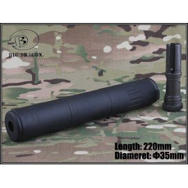 Silencieux AAC SPR/M4 Deluxe Noir