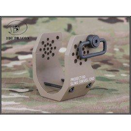 Strap attaches P90 V1 Desert