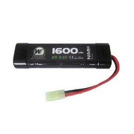 WE Batterie 9.6V Mini 1600mAh Nimh