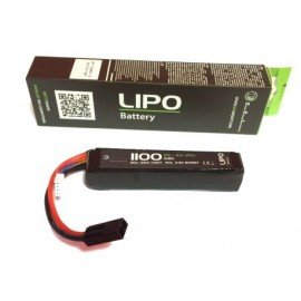 WE Batterie LiPo 11,1V Stick 1100mAh
