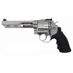 "HFC Savaging Bull 6"" Revolver Argent"