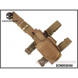 Emerson Holster de Cuisse Coyote Droitier