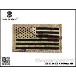 Emerson Patch Tissu Drapeau USA Multicam Gauche
