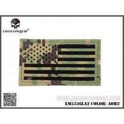 Emerson Patch Tissu Drapeau USA AOR2 Gauche