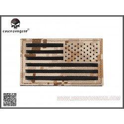 Emerson Patch Tissu Drapeau USA AOR1 Droite