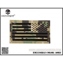 Emerson Patch Tissu Drapeau USA AOR2 Droite