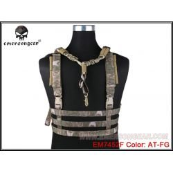 Emerson Chest Rig Low Profile A-tacs FG