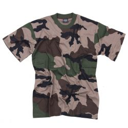 T-shirt Recon Tactique Woodland S