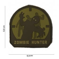 Patch PVC Zombie Hunter OD