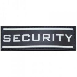 Patch Security Noir et Blanc
