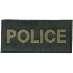 Patch BlackHawk Police Noir / OD