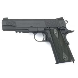 Cybergun Colt 1911 Rail Gun Noir Co2