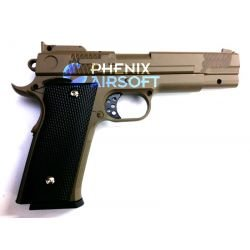 Galaxy Smith & Wesson M1911 M945 Désert Full Metal Ressort