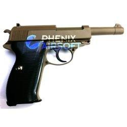 Galaxy Walther P38 Désert Full Metal Ressort