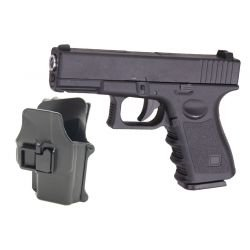 Galaxy G15+ pack G19 Full Metal Ressort avec Holster