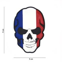 Patch 3D PVC Skull Flag