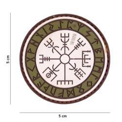 Patch 3D PVC Runes de Protection Sable et OD