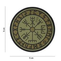 Patch 3D PVC Runes de Protection OD