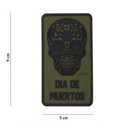 Patch 3D PVC Dia de Muertos