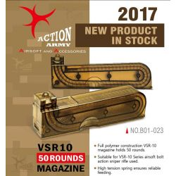 Action Army Chargeur VSR10 50 Billes