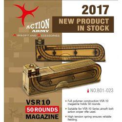 Action Army Chargeur VSR10 50 Billes