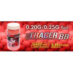 G&G 0.25g Fluo / Tracer Bouteille 2400 Billes
