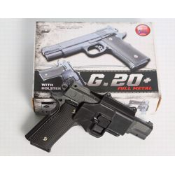 Galaxy G20 type Smith & Wesson M1911 M945 Full Metal Ressort Avec Holster