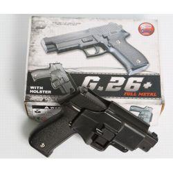 Galaxy G26 type Sig Sauer P226 Full Metal Ressort Avec Holster