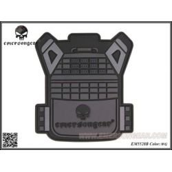 Patch 3D PVC Gilet JPC Wolf Grey