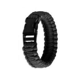 """Fibex Bracelet Paracode """"Cobra"""" Noir"""