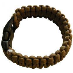 Bracelet Paracorde Noir Taille M