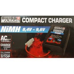 Swiss Arms Chargeur de Batterie Auto 8.4/9.6v NiMh