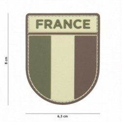 Patch 3D PVC French army Multicam