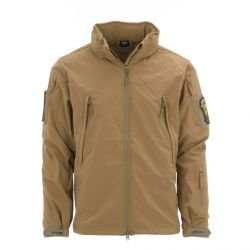 Veste Tactique Soft Shell Coyote
