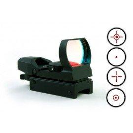 CN Red Dot Rouge/Vert - 4 Modes Reticule