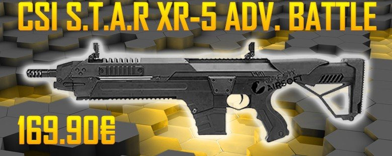 CSI S.T.A.R XR-5 Advanced Battle