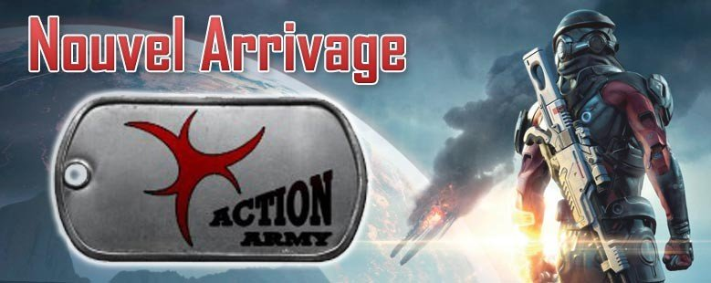 Arrivage Action Army